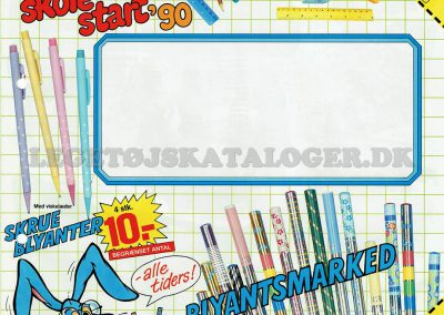 1990 Skolestart