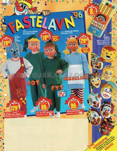 1996 Fastelavn - Forside
